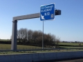 Motorway Sign Gantry