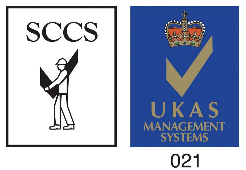 The SCCS and UKAS Logos
